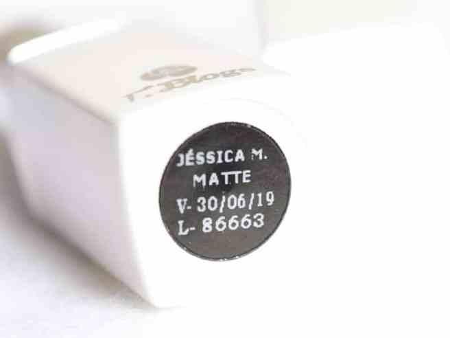 Batom Jessica Make Tblogs - embalagem detalhe