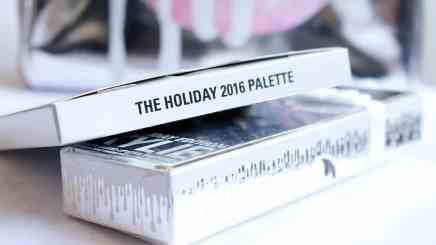 Holiday Edition Kylie Cosmetics - The Holiday 2016 Palette