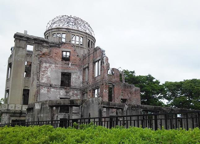 Cúpula da Bomba Atômica, localizada no Parque Memorial da Paz de Hiroshima (Fonte: arquivo pessoal)