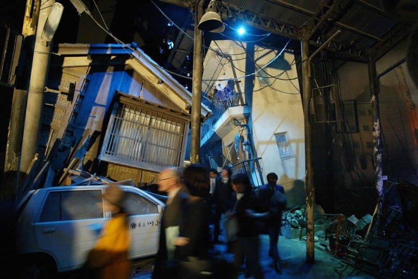 simulação terremoto 1995 kobe Japão