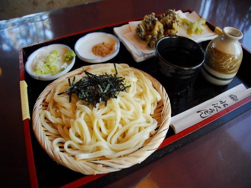 Comida local de Gunma no Japão
