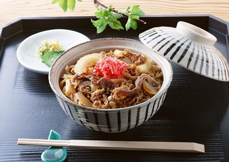 Gyudon tradicional Japão