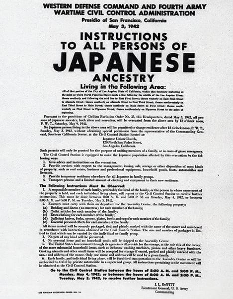 Campo concentracao japones