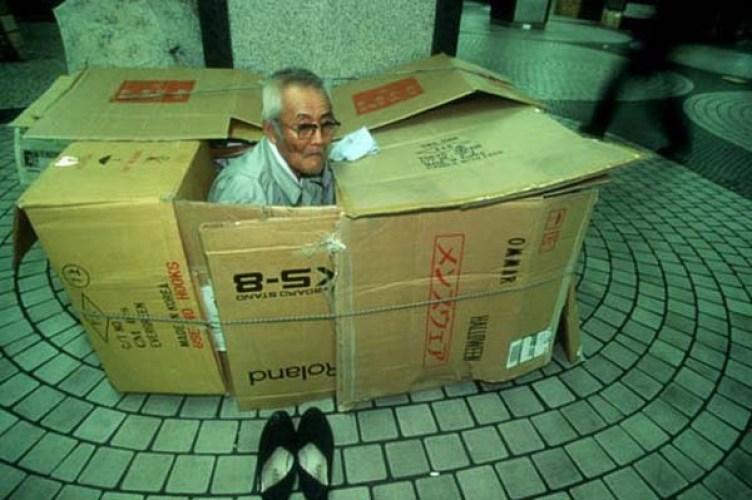 morador de rua idoso