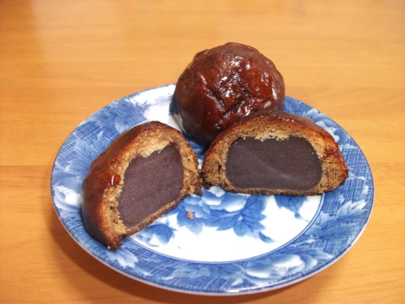Manju doce japonês