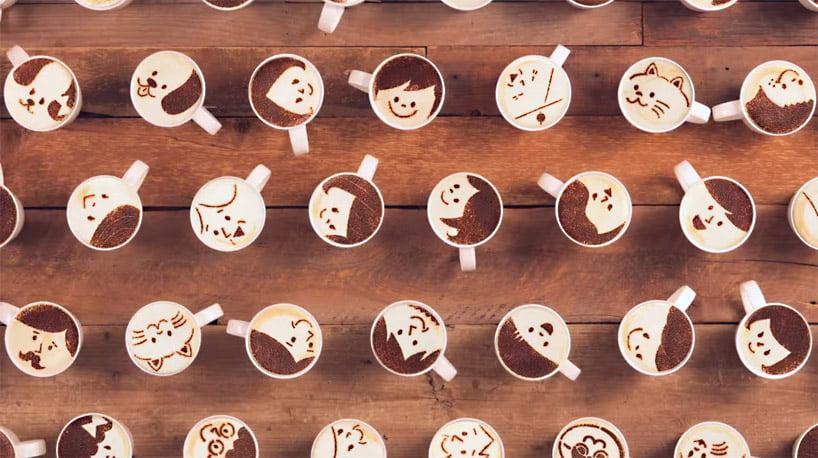 Café doce japonês