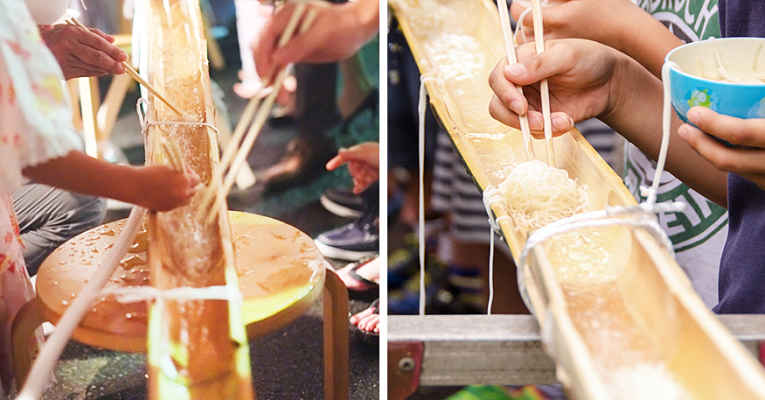 comida de verão no Japão
