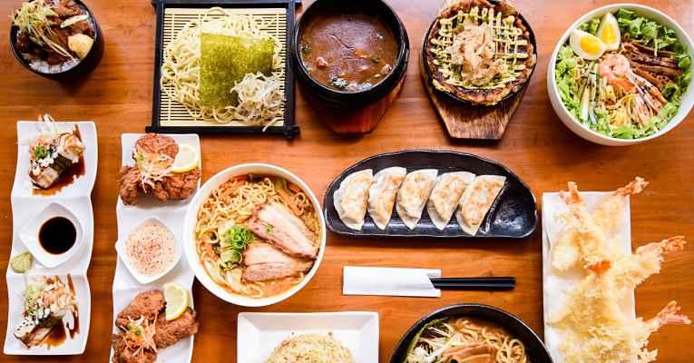 Comida sem glúten no Japão