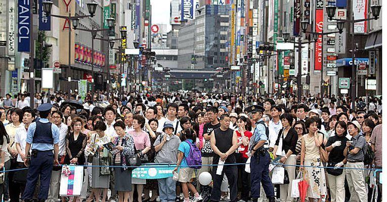Densidade demográfica Tóquio
