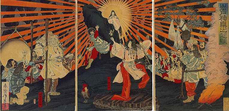 Ilustração do Shinto
