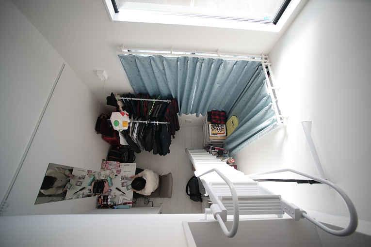 Novos apartamentos no Japão