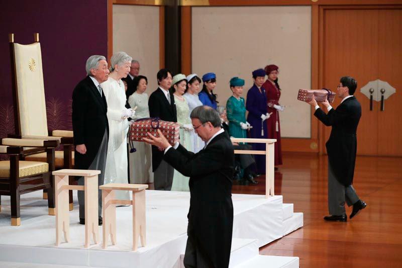 Cerimônia de abdicação do Imperador Akihito