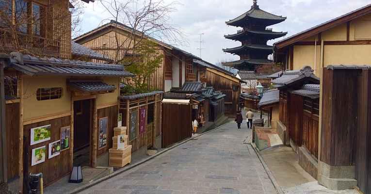 viver em Kyoto
