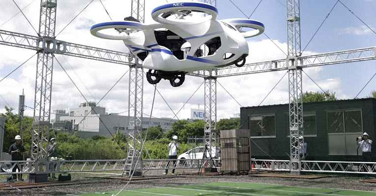 Carro voador NEC