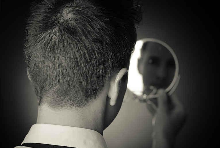 reflexo no espelho
