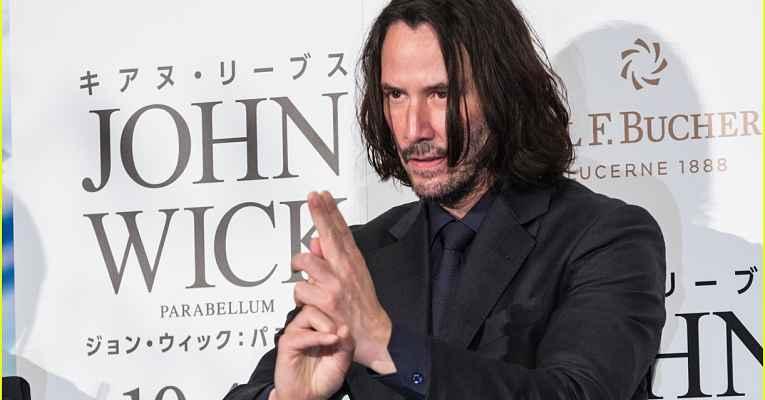Keanu Reeves no Japão