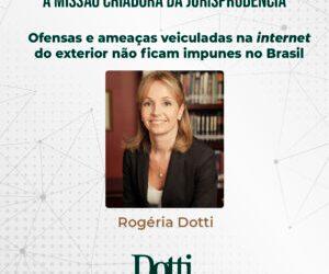Ofensas e ameaças na internet veiculadas do exterior não ficam impunes no Brasil