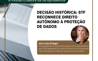 Decisão Histórica: STF Reconhece Direito Autônomo à Proteção de Dados