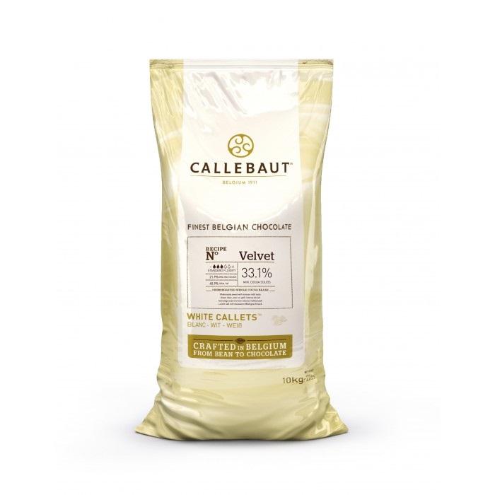 Velvet Biela čokoláda 33.1% Callebaut 10kg
