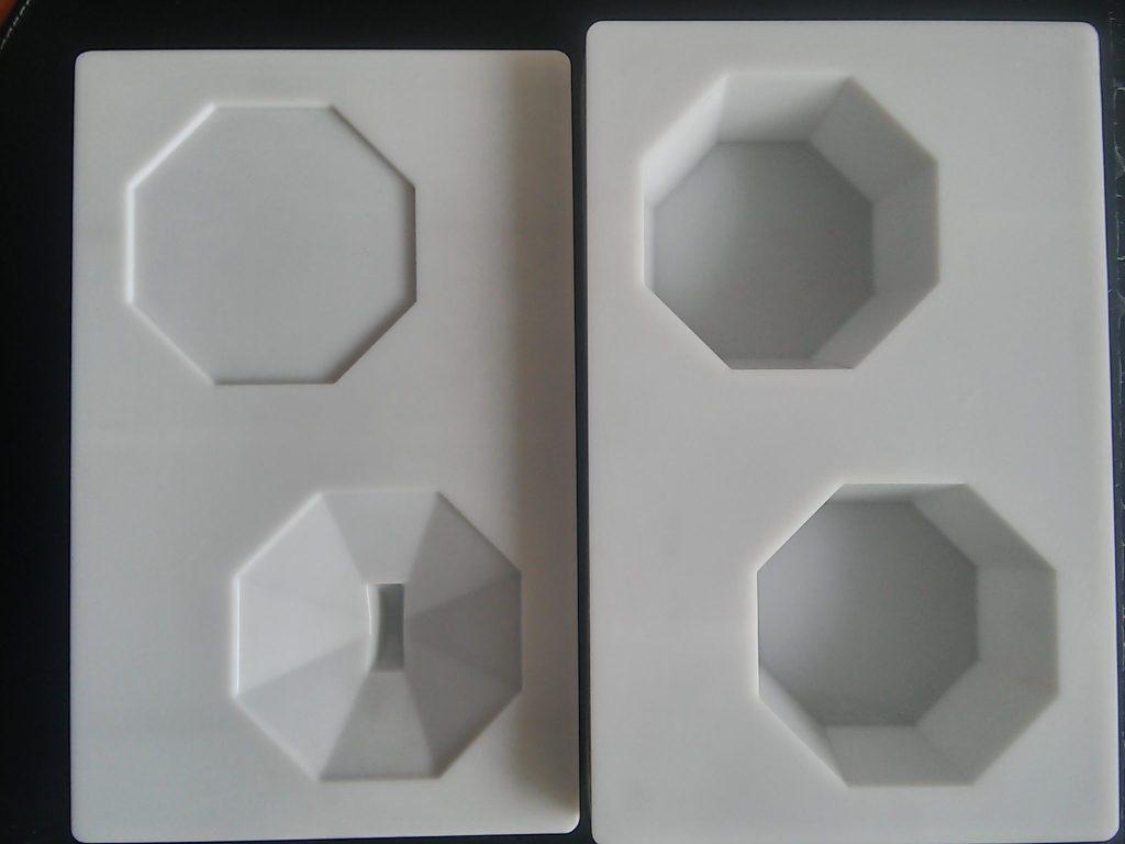 Forma na čokoládovú krabičku