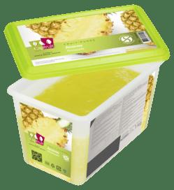 Mrazené pyré ananás Cap Fruit