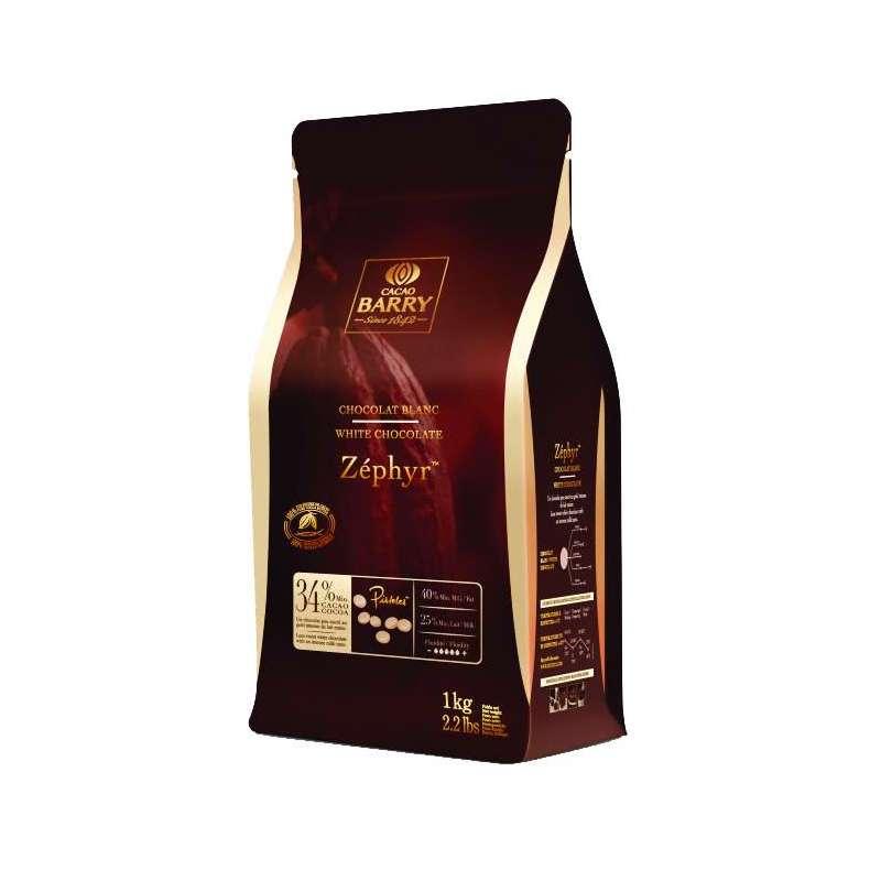 Zéphyr™ Biela čokoláda 34% Cacao Barry 1kg