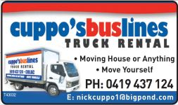 cuppos truck rental