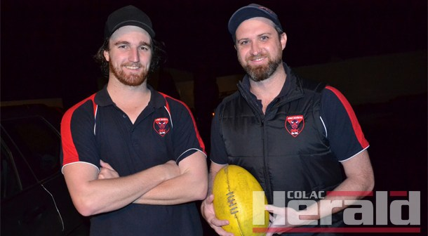 Otway coaching duo re-commits for 2018