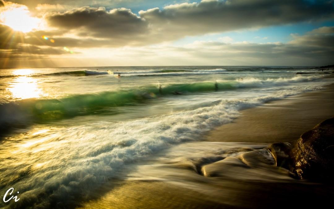 La Jolla Seascapes Golden Hour