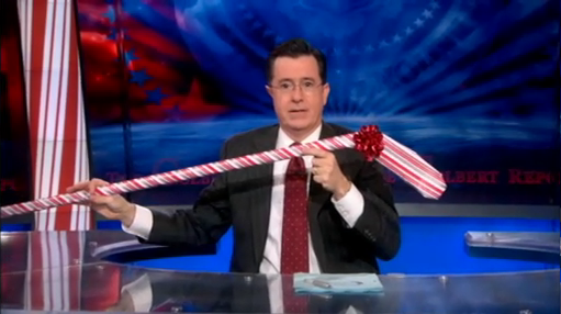 Colbert Gift Wrapping