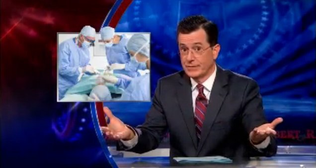The Colbert Report on Food Stamps