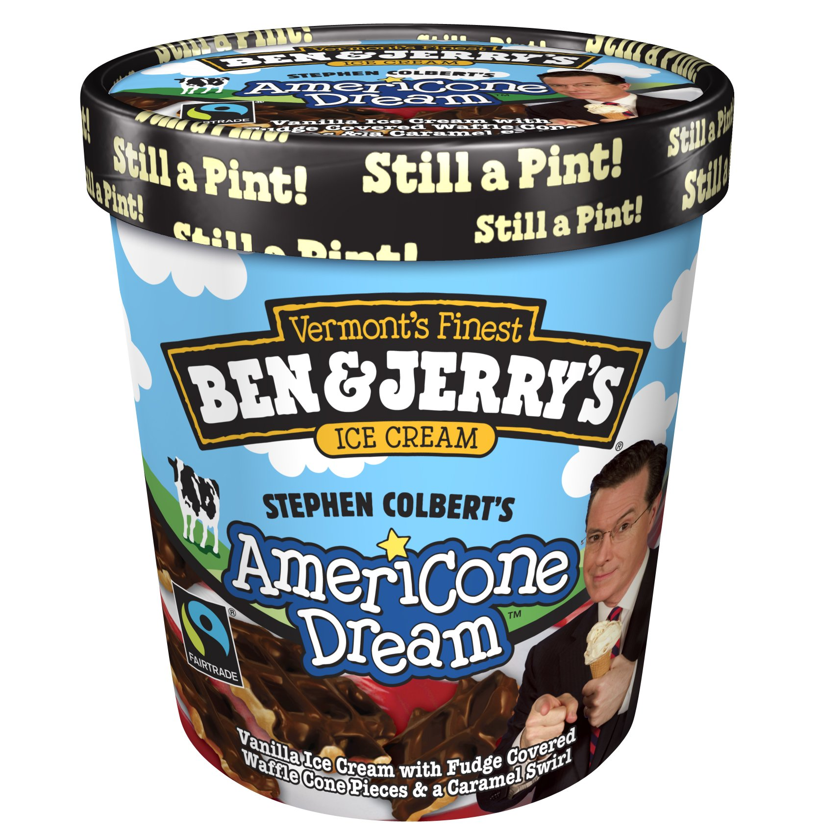 The Stephen Colbert Americone Dream Fund Benefits Healing Improv Stephen colbert donates his proceeds from the sale of americone dream™ to charity through the stephen colbert americone dream fund. the stephen colbert americone dream