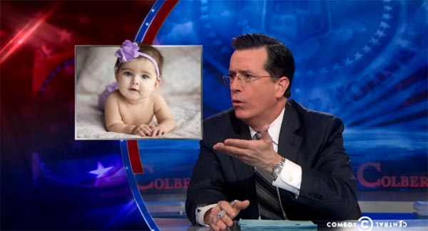 Stephen Colbert on Womens History Month