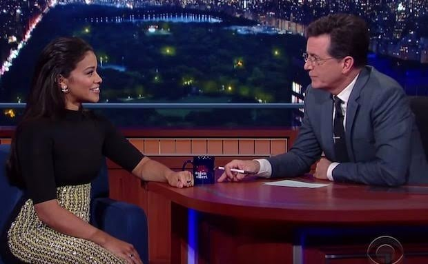 Gina Rodriguez on The Late Show with Stephen Colbert