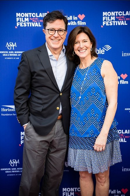Stephen Colbert at the Montclair Film Festival Opening Night 2017