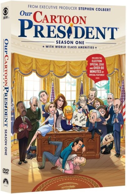 Our Cartoon President Season One DVD