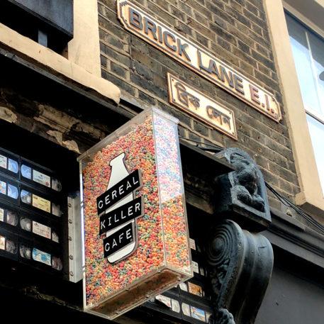 Dove mangiare a Londra - Cereal killer cafè