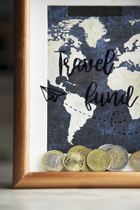 Come risparmiare per viaggiare: salvadanaio DIY