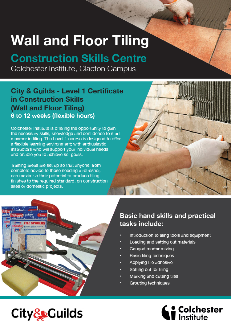 Construction Skills Centre | Clacton | Adult Training