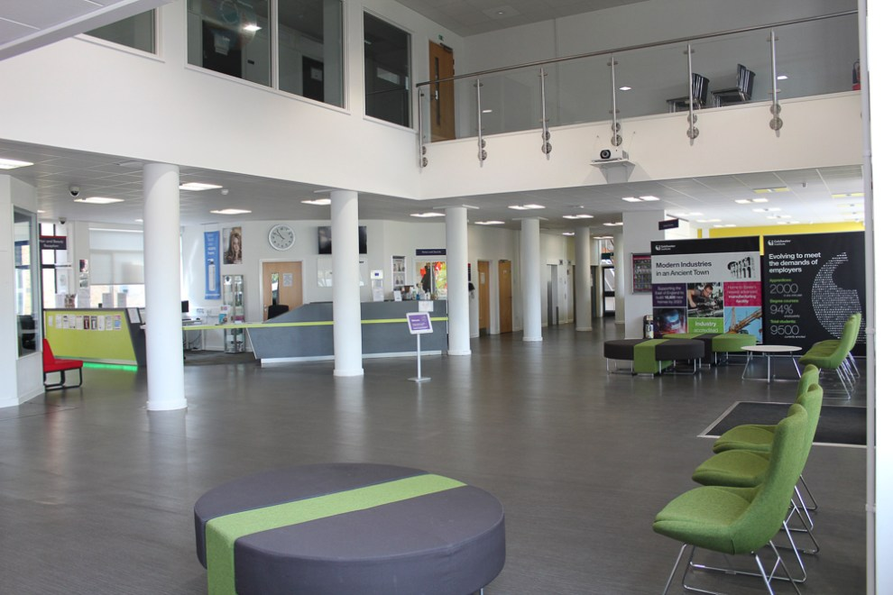 Colchester Campus Reception