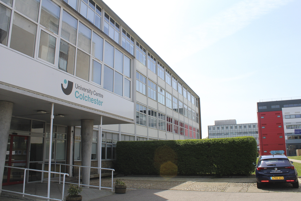 Colchester Campus UCC Building