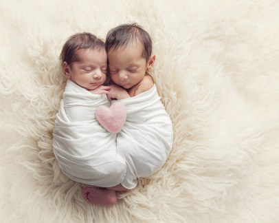 twin baby photo