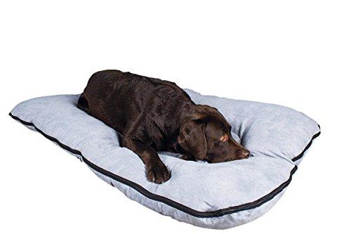 Cama para perros/colchoneta para perros XXL, 120×80 cm, gris, colchón de perro