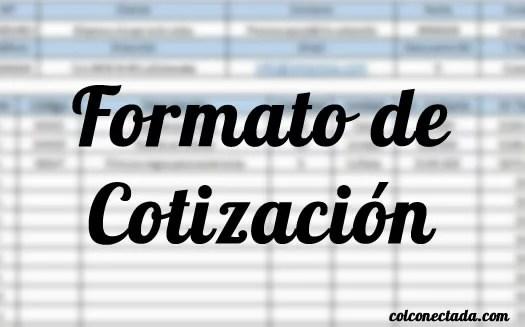 Formato De Cotización En Excel Para Descargar Y Recomendaciones