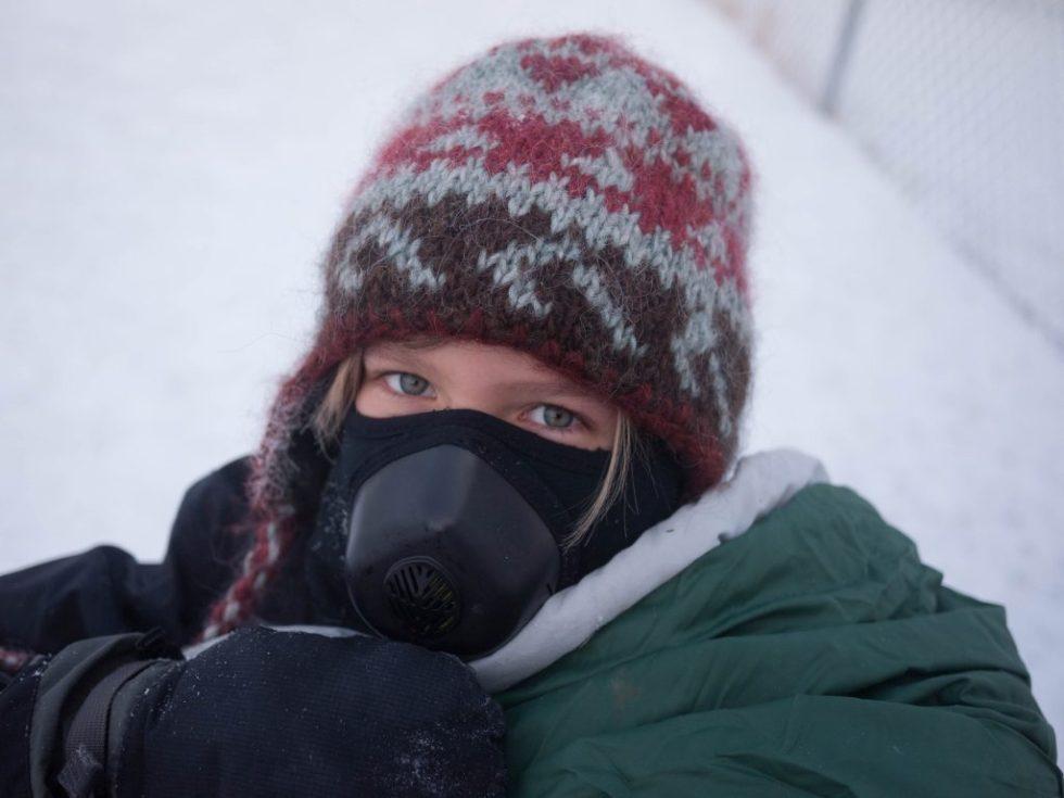 Cold Avenger Mask