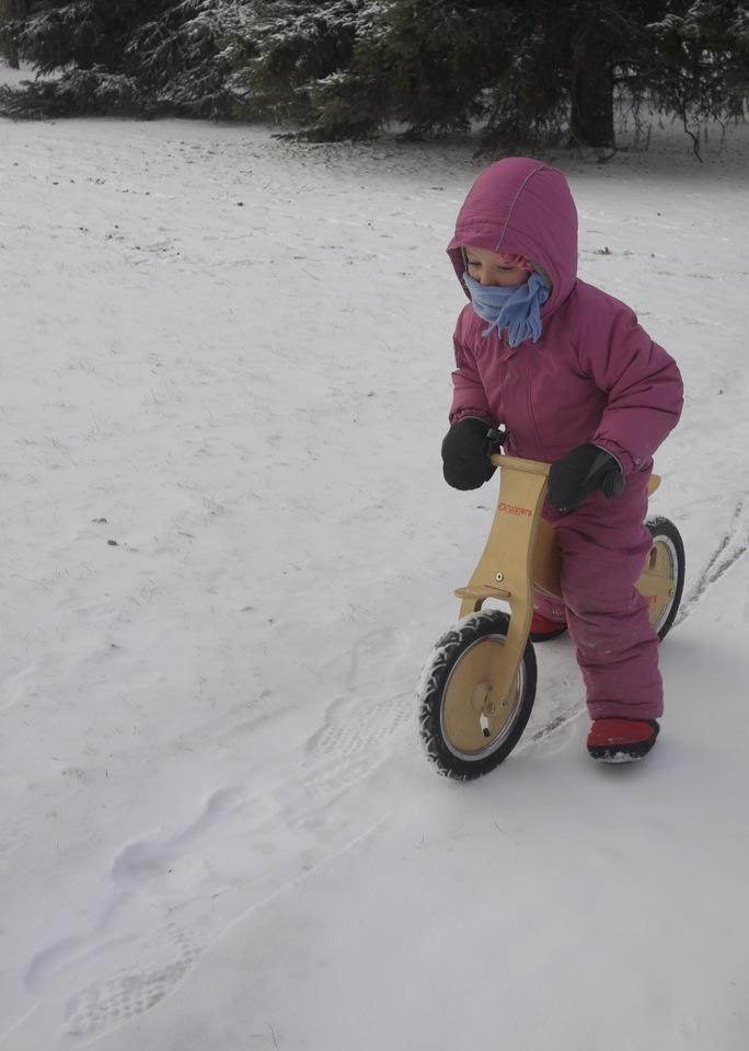 booties, run-bike, warm feet on a bike, kid