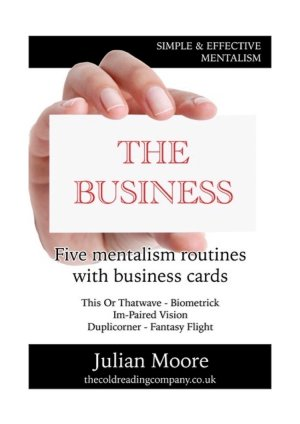 business mentalism book