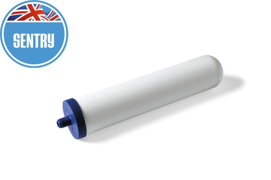 Replacement water filter. Sentry ceramic water filter. Best filters on the market.UK made.Free next day UK delivery.Carbon neutral. Removes more contaminants