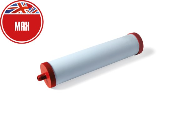 Max ceramic water purifier. Replacement water filter. Water purification filter. Best filters on the market.UK made.Free next day UK delivery.Carbon neutral. Removes more contaminants