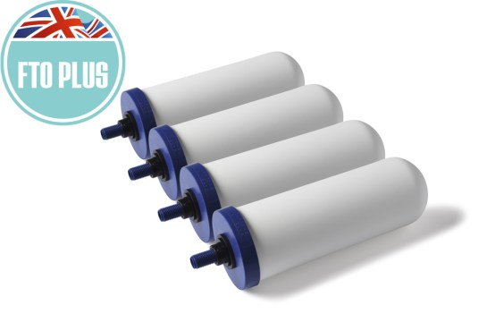 FTO Plus gravity system filter. Removal of flouride. UK free delivery. Best water filter